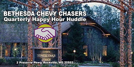 Bethesda Chevy Chasers Quarterly Happy Hour Huddle tickets
