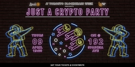 Just a Crypto Party tickets