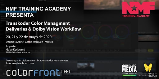 Transkoder Color Management Deliveries & Dolby Vision Workflow