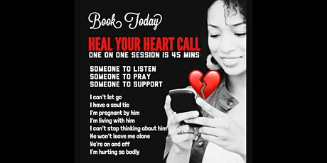 HEAL YOUR HEART 45 MIN CALL tickets