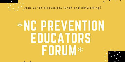 NC Child Abuse Prevention Educators Forum Feb 2020