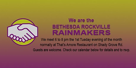 Bethesda Rockville Rainmakers tickets