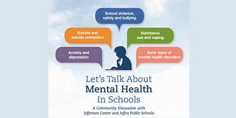 Let's Talk About Mental Health In Schools tickets