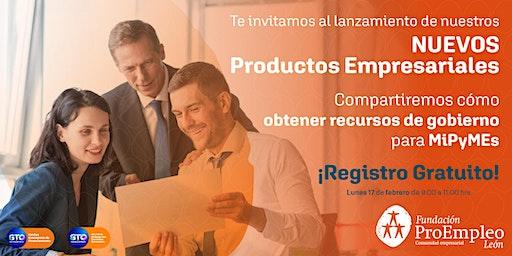 Lanzamiento de Nuevos Productos Empresariales