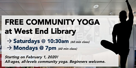 Free Community Yoga @ West End Library (DC) tickets
