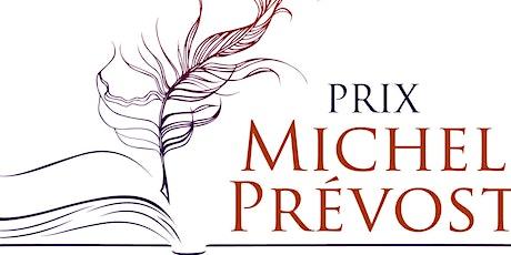 Cérémonie de remise du Prix Michel-Prévost 2020 billets