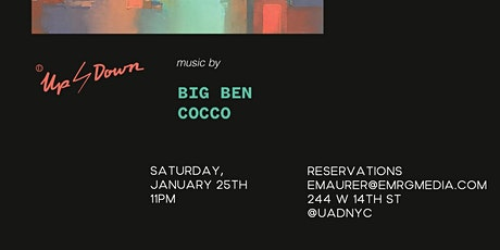 Saturday January 25th at Up&Down tickets