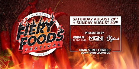 2020 Columbus Fiery Foods Festival tickets