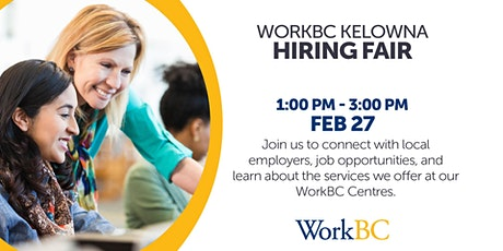 Kelowna Hiring Fair! tickets