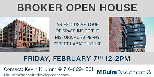 Broker Open: 79 Perry St Labatt House