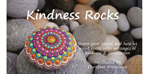 Kindness Rocks- Painting at Glen Pine