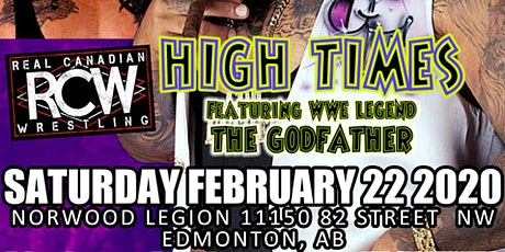 RCW High Times-Official tickets