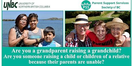 Grandparents Raising Grandchildren/Kinship Care Focus Group tickets