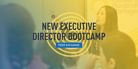 New Executive Director Bootcamp tickets