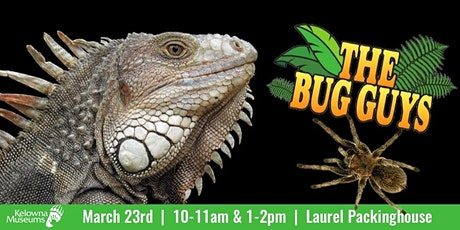 Kelowna Museums presents the Bug Guys tickets