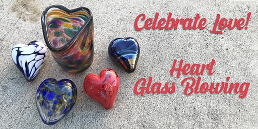 Glass Blowing: Make a Valentine with your Valentine!