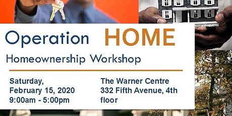 Operation Home Workshop - February 2020 tickets