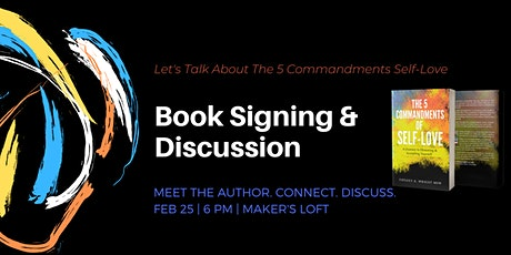 5 Commandments of Self-Love Book Signing tickets