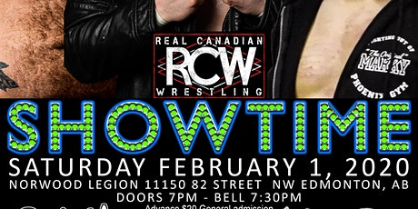 RCW PRESENTS SHOWTIME tickets
