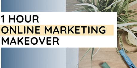 1 Hour Online Marketing Makeover tickets