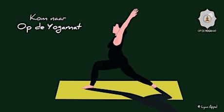 Elke donderdag om de week Hatha Yoga (vervallen i.v.m. Corona) tickets