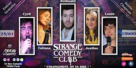 Strange Comedy Club - #78 billets