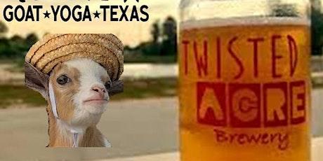 Goat Yoga Texas - Brunch'n Goats @ Twisted Acre - Sun., Feb. 23 @ 11AM tickets