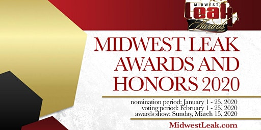 Midwest Leak Awards and Honors 2020