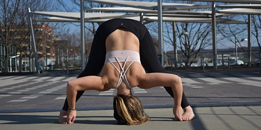 Yoga flow at The Yards Local lululemon | February Series
