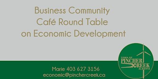 Business Community Café Round Table on Economic Development