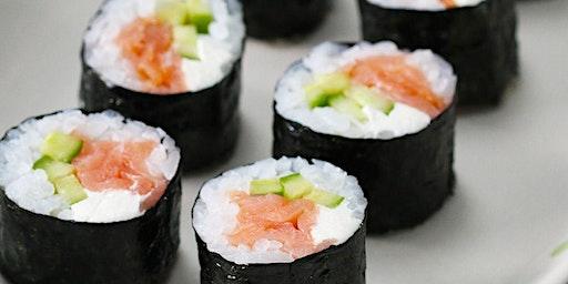 Parent & Me Cooking Class (Sushi), $50 per couple