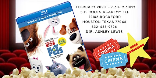 Movie Night! Showing: The Secret Life Of Pets!
