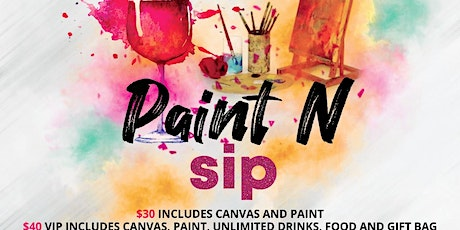 Paint N Sip tickets