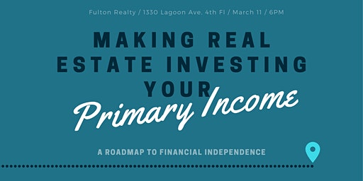 Making Real Estate Investing Your Primary Income