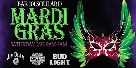 The Official Jim Beam Mardi Gras 2020  -  Bar 101 Soulard tickets