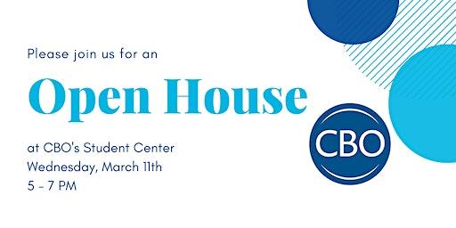 CBO's 2020 Open House