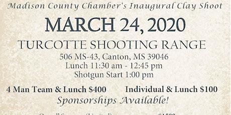 Madison County Chamber Clay Shoot tickets