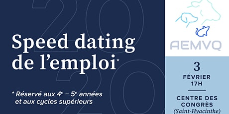 Speed Dating de l'emploi AEMVQ billets