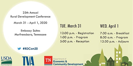 25th Annual Rural Development Conference tickets