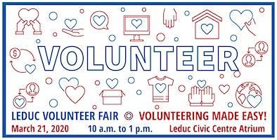 Leduc Volunteer Fair 2019