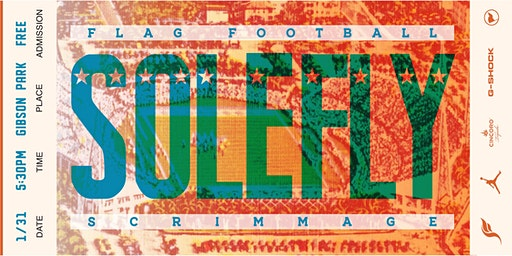 SoleFly X Jordan flag football classic