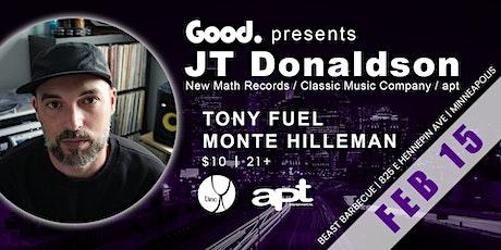 JT Donaldson Stay Inside Tour tickets