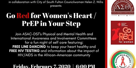 Go Red for Women's Heart/PrEP in your Step tickets