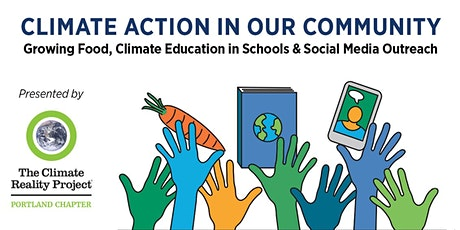 Climate Action in our Community: Food, Education & Social Media tickets