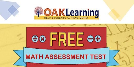 FREE G1-9 Math Assessment Test
