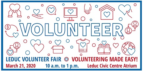 Leduc Volunteer Fair 2020 - Exhibitor Registration tickets