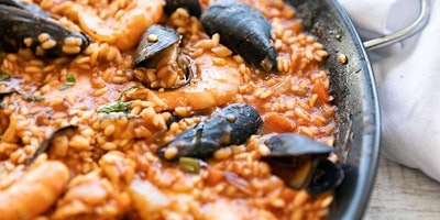 Spanish Paella From Scratch - Cooking Class by Golden Apron™