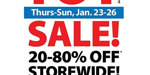 Annual Winter Toy Sale
