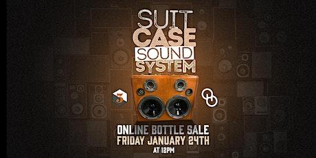 Suitcase Sound System Bottle Online Sale tickets
