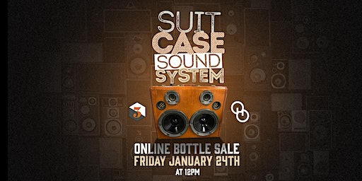 Suitcase Sound System Bottle Online Sale